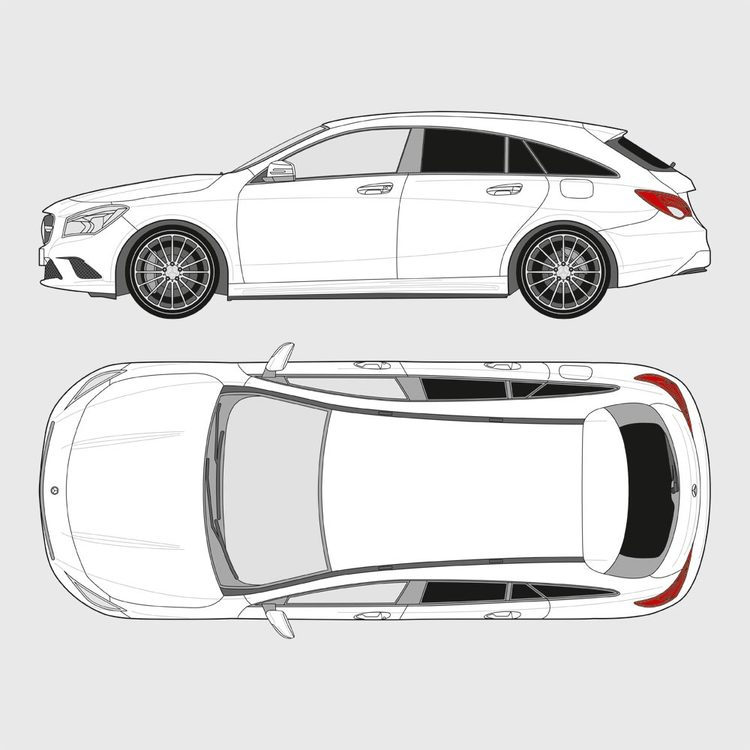 Mercedes CLA Shooting Brake 2015-