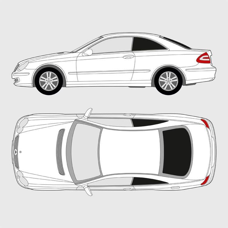 Mercedes CLK 2003-2009