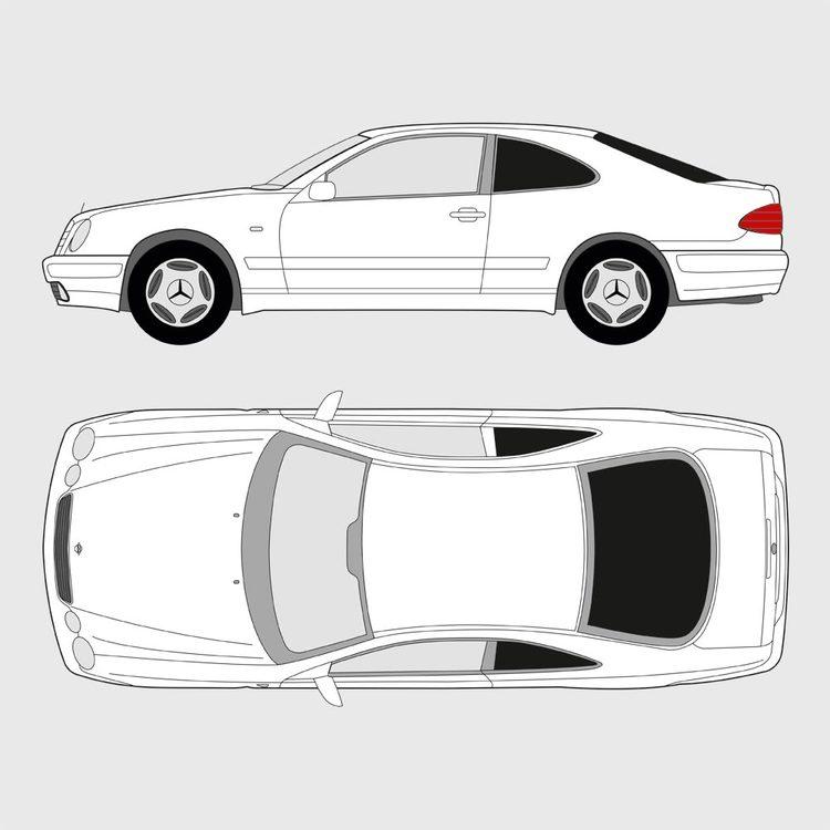 Mercedes CLK 1998-2003
