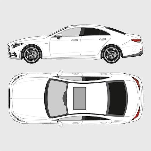 Mercedes CLS 4-dörrar