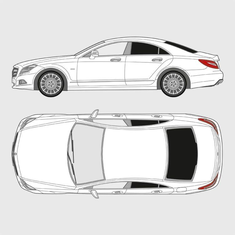 Mercedes CLS 4-dörrar 2010-2018