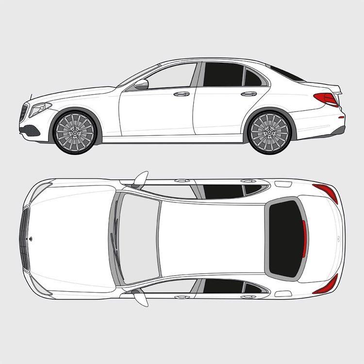Mercedes E-Klass 4-dörrar 2016-