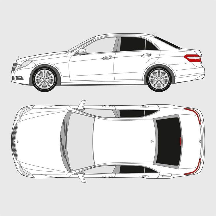 Mercedes E-Klass 4-dörrar 2009-2016