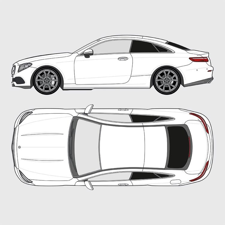 Mercedes E-Klass Coupe 2017-