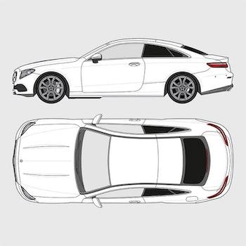 Mercedes E-Klass Coupe