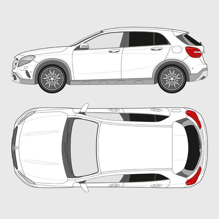 Mercedes GLA 2014-