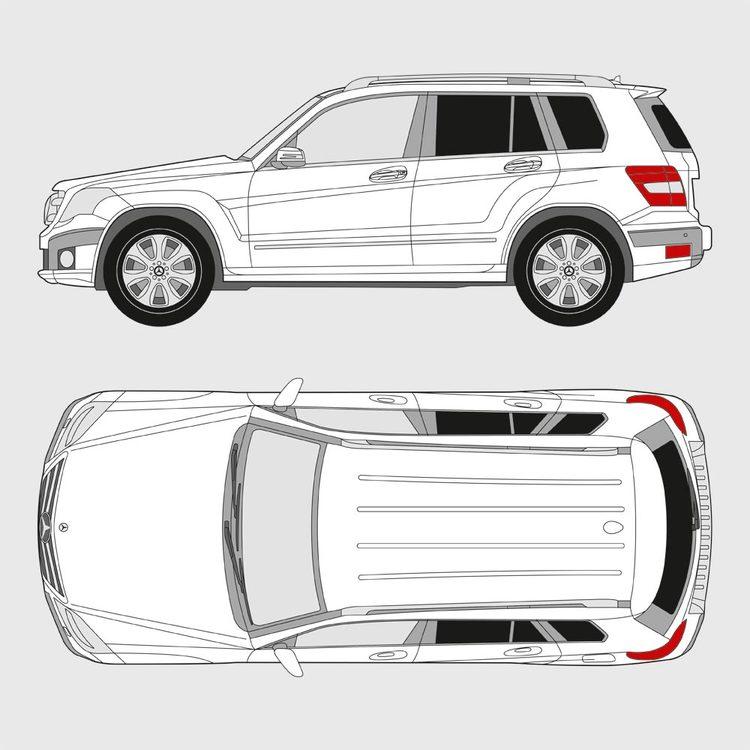 Mercedes GLK 2008-2015