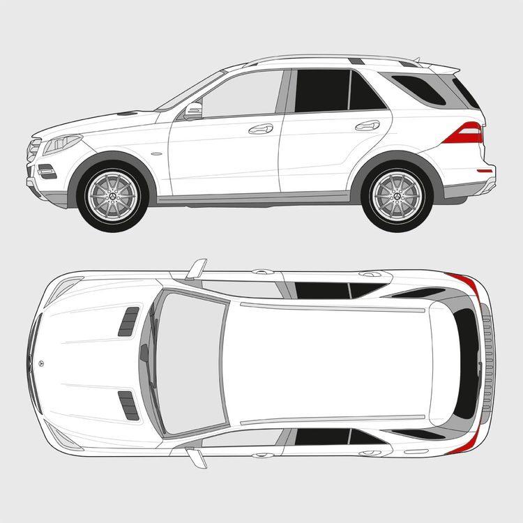 Mercedes M-Klass 2011-2015