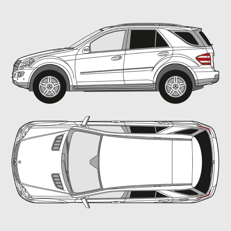 Mercedes M-Klass 2005-2011