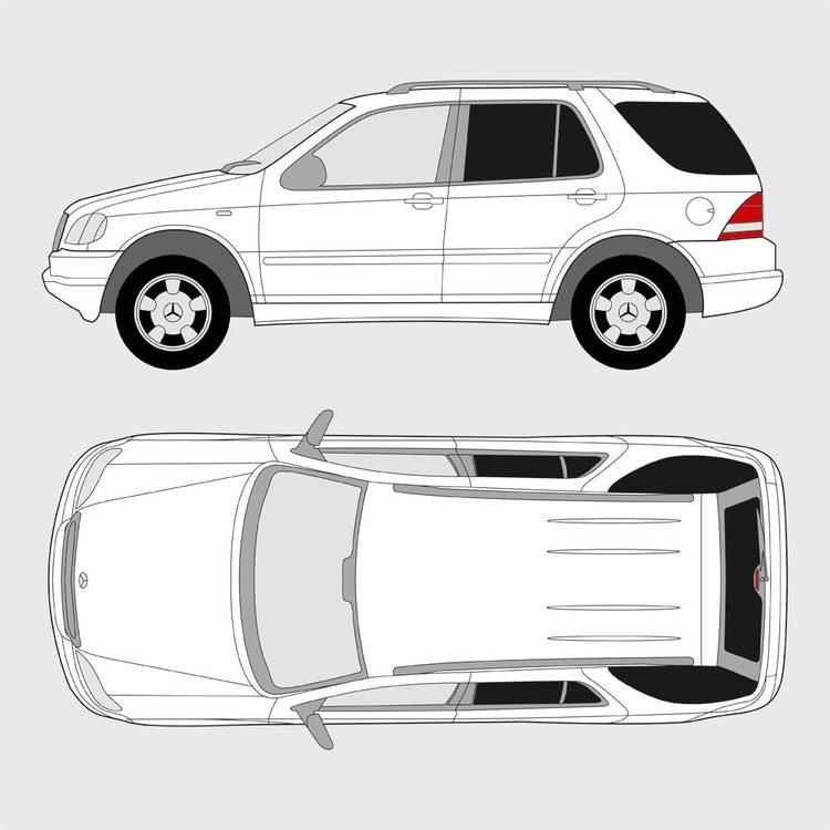 Mercedes M-Klass 1997-2005