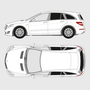 Mercedes R-Klass Kort