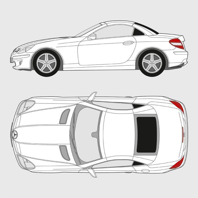 Mercedes SLK 2004-2011