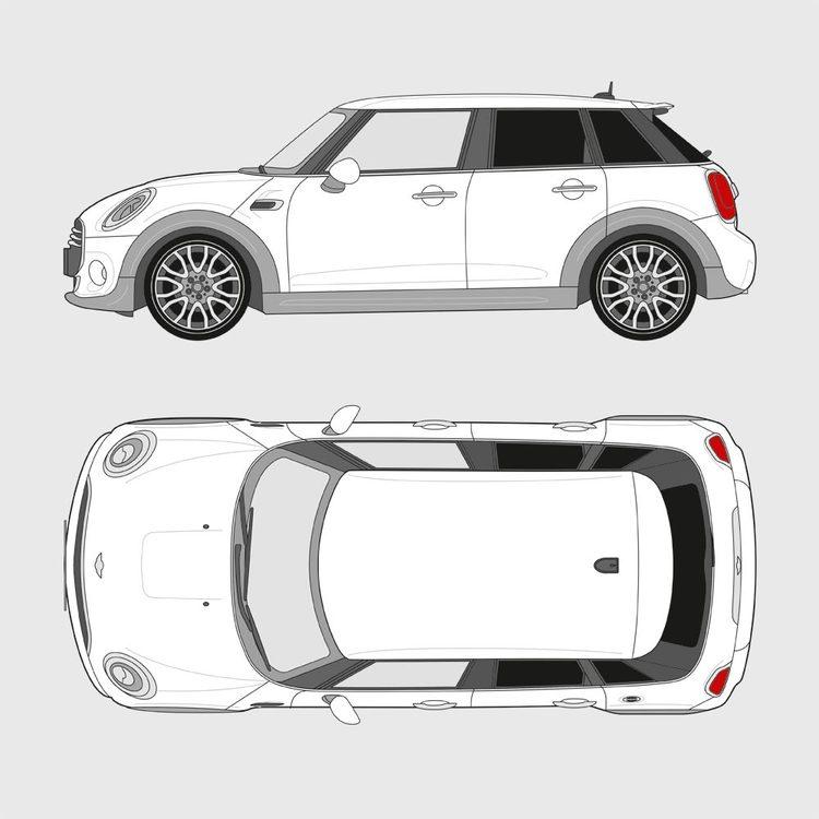 Mini Cooper 5-dörrar 2014-