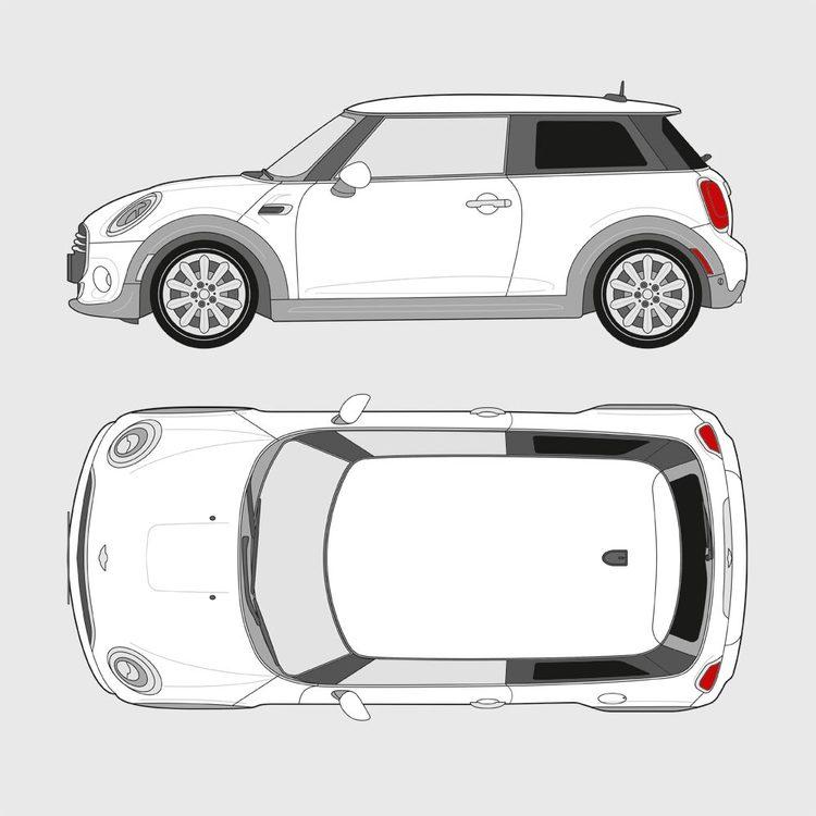 Mini Cooper 3-dörrar 2014-
