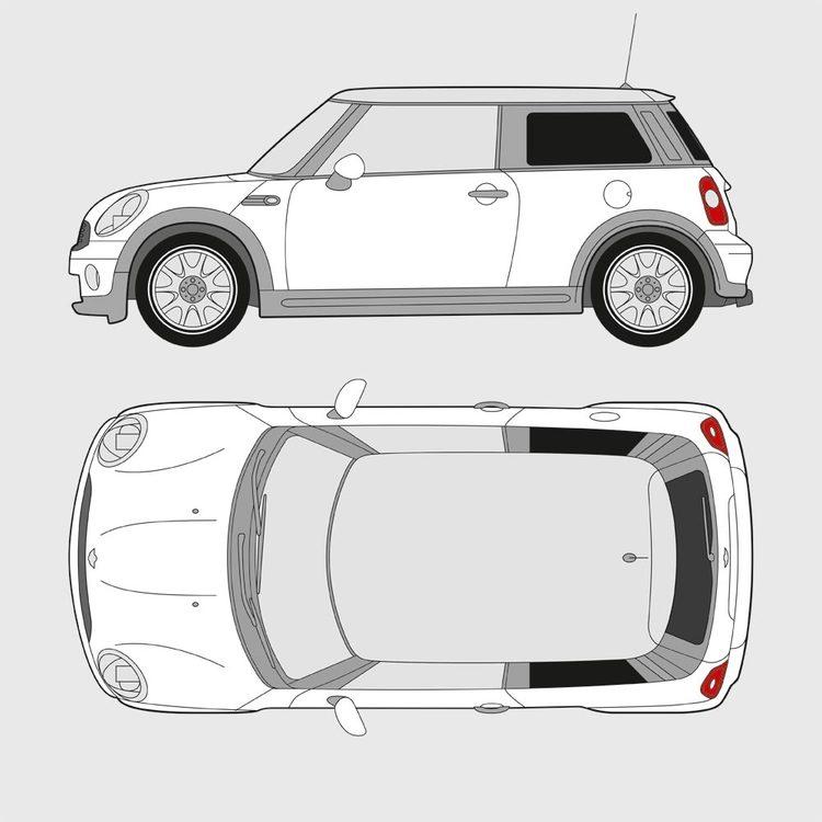 Mini Cooper 3-dörrar 2006-2014