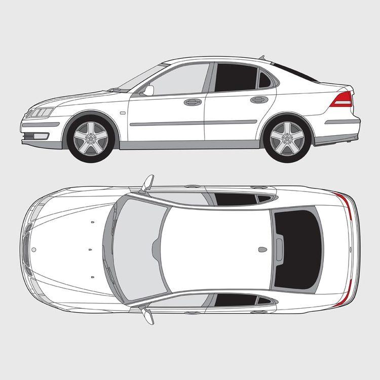 Saab 9-3 4-dörrar 2003-2010