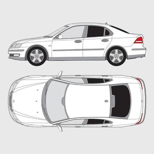 Saab 9-3 4-dörrar