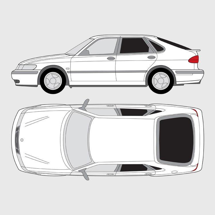 Saab 9-3 5-dörrar 1998-2002