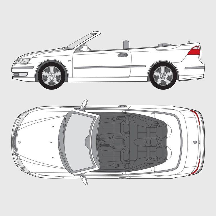 Saab 9-3 Cab 2003-2010