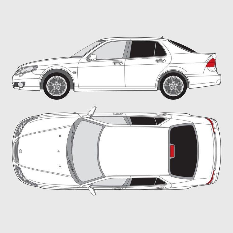Saab 9-5 4-dörrar 1996-2009
