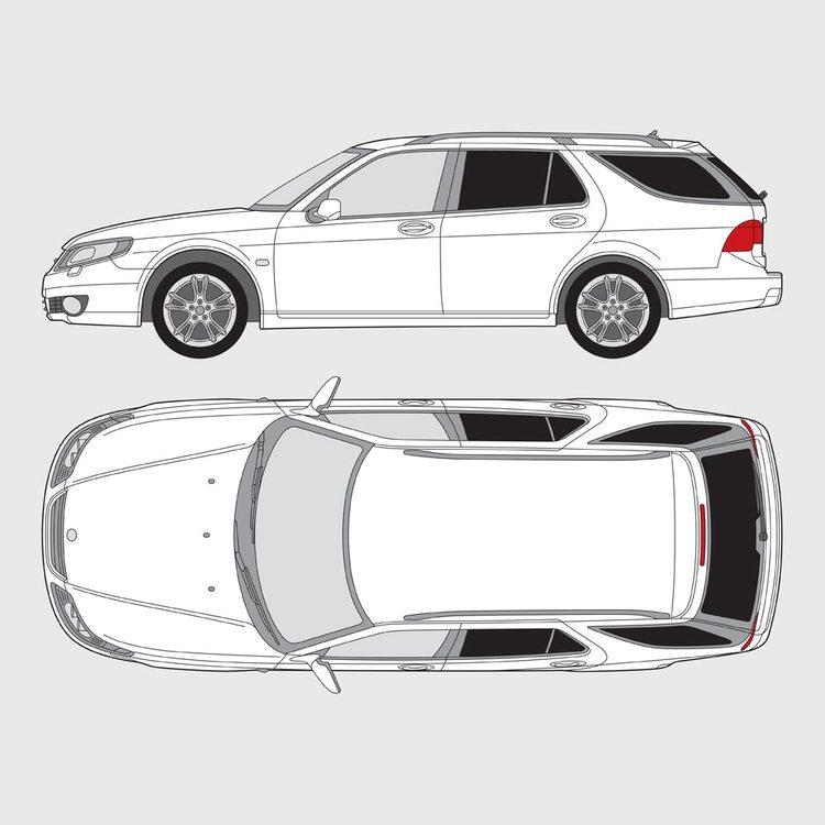 Saab 9-5 kombi 2007-2011