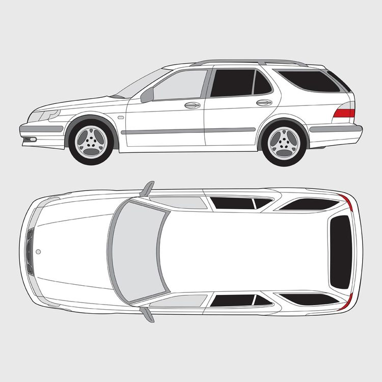 Saab 9-5 kombi 1999-2005