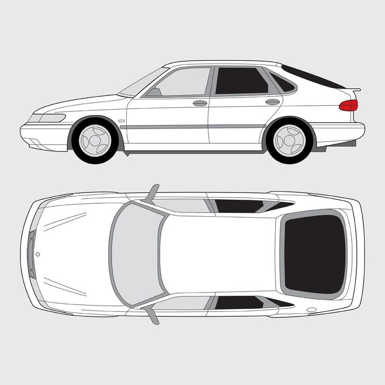 Saab 900 5-dörrar 1993-1998