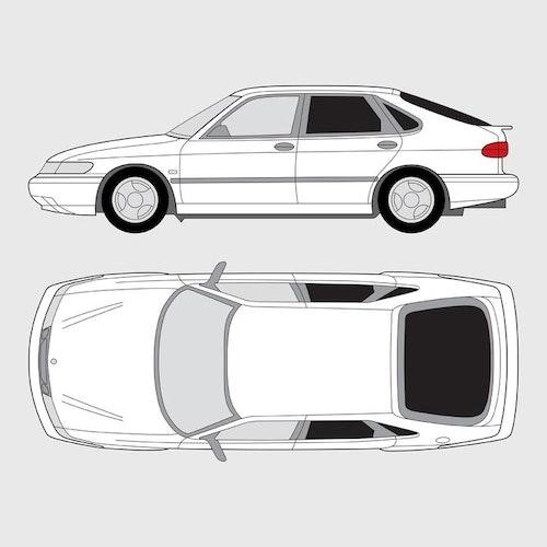 Saab 900 5-dörrar