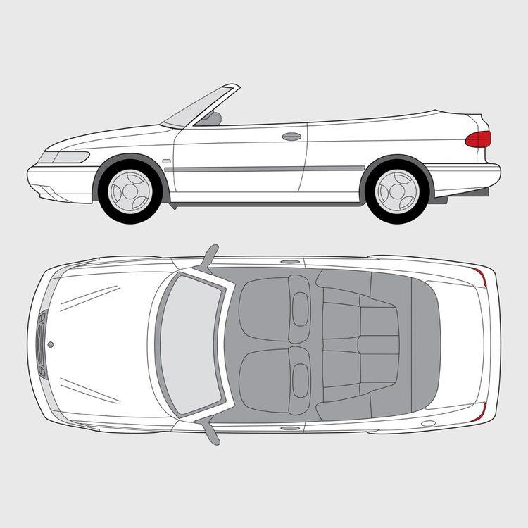 Saab 900 Cab 1993-1998