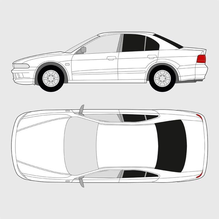 Mitsubishi Galant 4-dörrar 1999-2003
