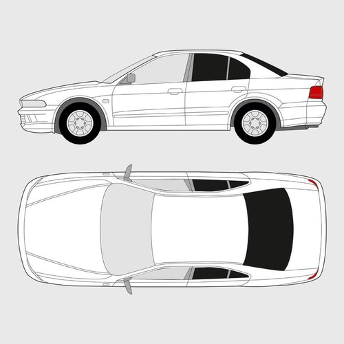 Mitsubishi Galant 4-dörrar