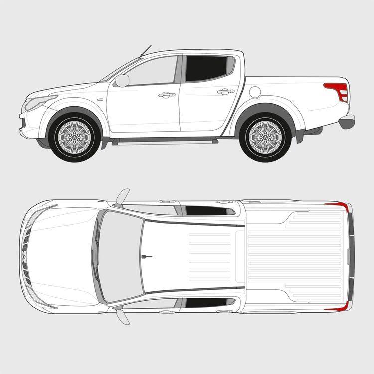 Mitsubishi L200 Double Cab 2015-