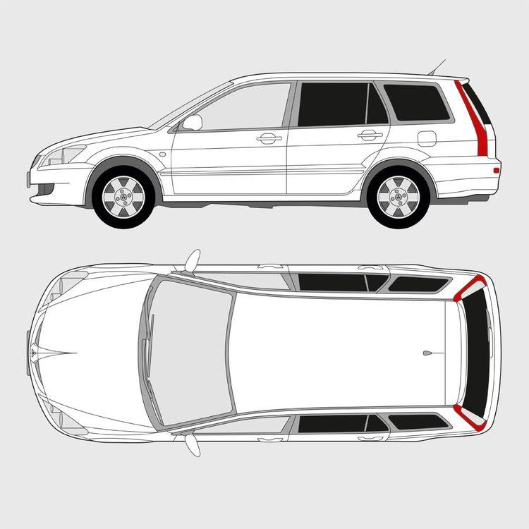 Mitsubishi Lancer kombi 2003-2008