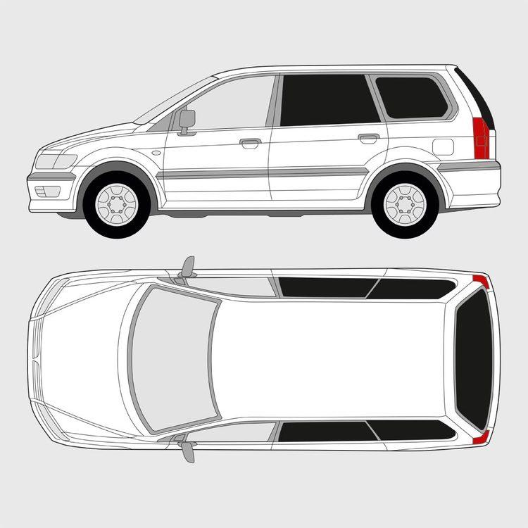 Mitsubishi Space Wagon 1998-2004