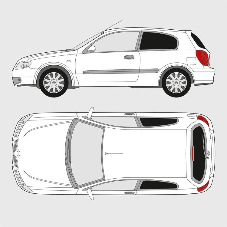 Nissan Almera 3-dörrar 2000-2009
