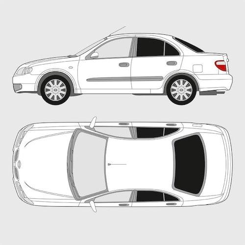 Nissan Almera 4-dörrar