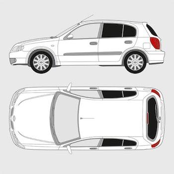 Nissan Almera 5-dörrar