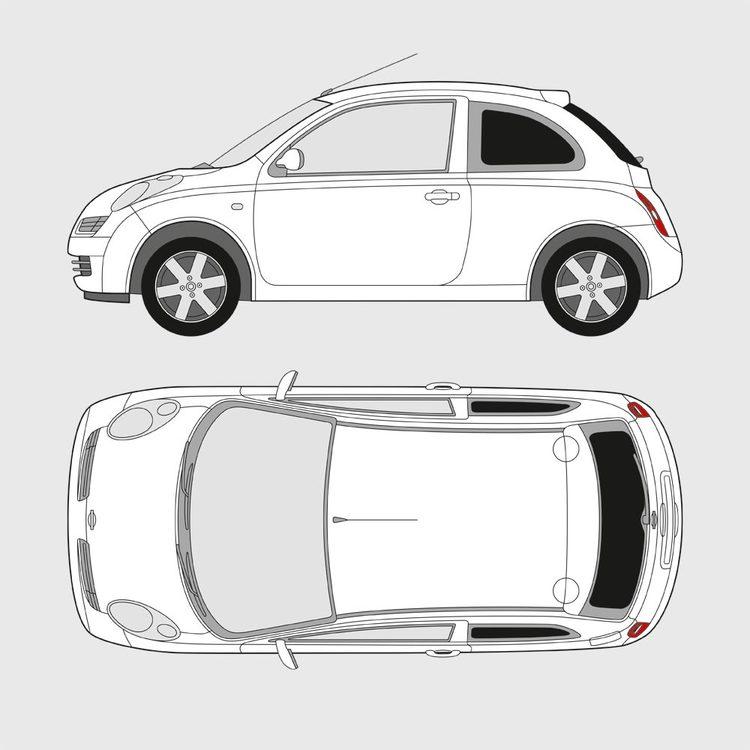 Nissan Micra 3-dörrar 2003-2010