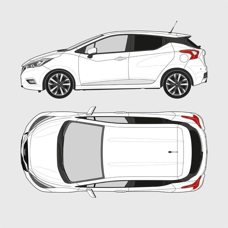 Nissan Micra 5-dörrar 2017-