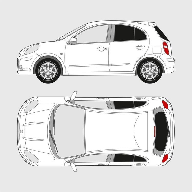 Nissan Micra 5-dörrar 2010-2017