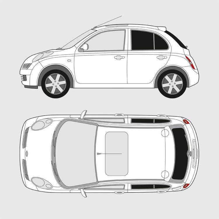Nissan Micra 5-dörrar 2003-2010