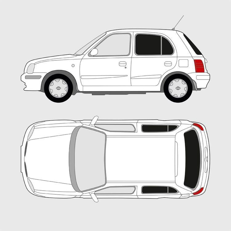 Nissan Micra 5-dörrar 1998-2003
