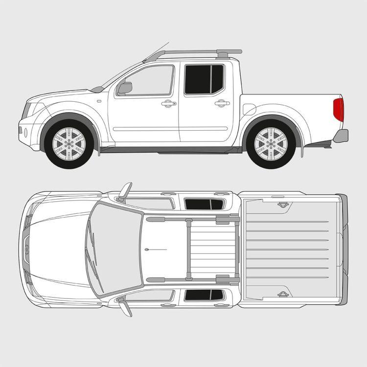Nissan Navara Double Cab 2005-2015