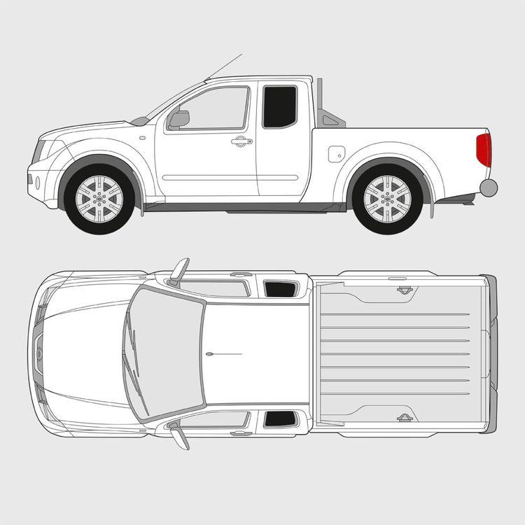 Nissan Navara Singel Cab 2006-2015