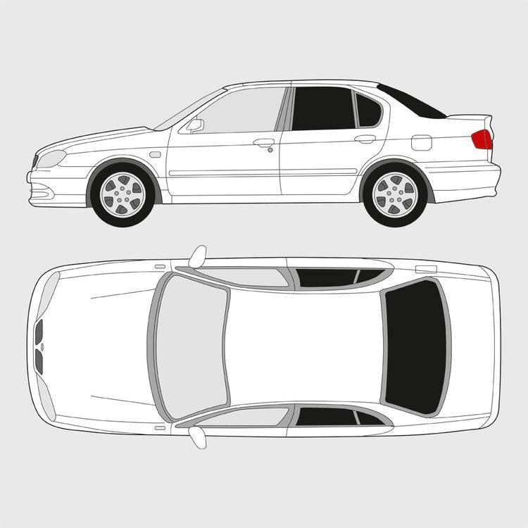 Nissan Primera 4-dörrar 2003-2007