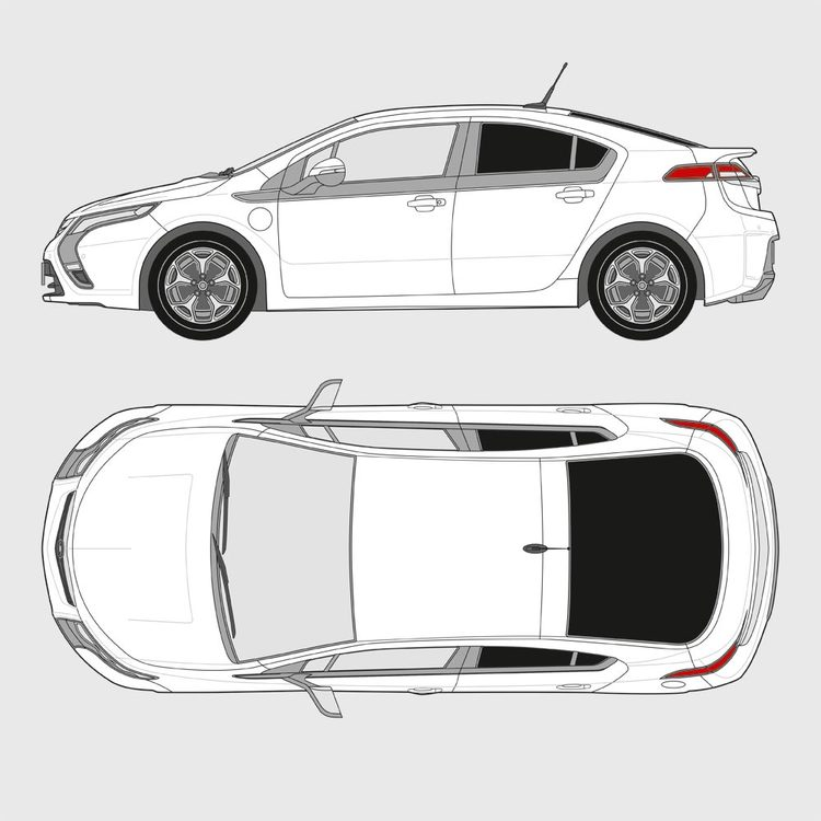 Opel Ampera 2011-