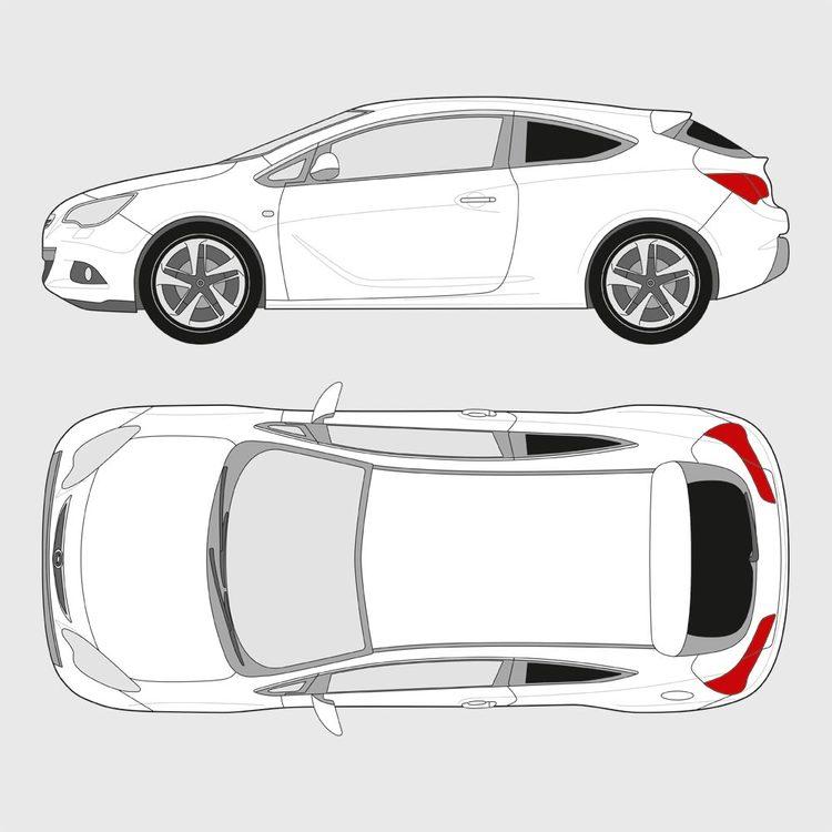 Opel Astra 3-dörrar 2012-