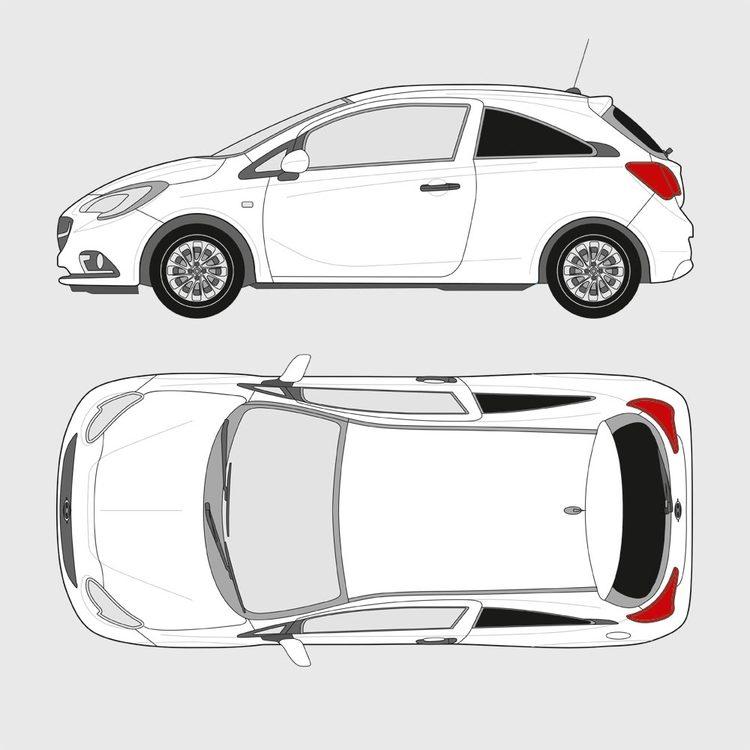 Opel Corsa 3-dörrar 2014-
