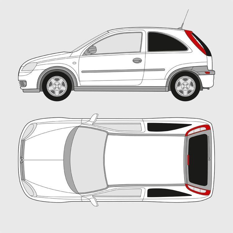 Opel Corsa 3-dörrar 2000-2006