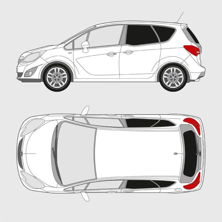 Opel Meriva 2010-